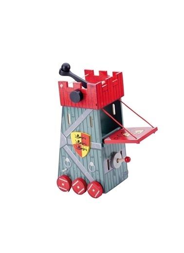 Le Toy Van Le Toy Van Kırmızı Kuşatma Kulesi Beyaz